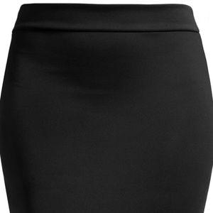 NWOT SEXY Black Mini Pencil Skirt
